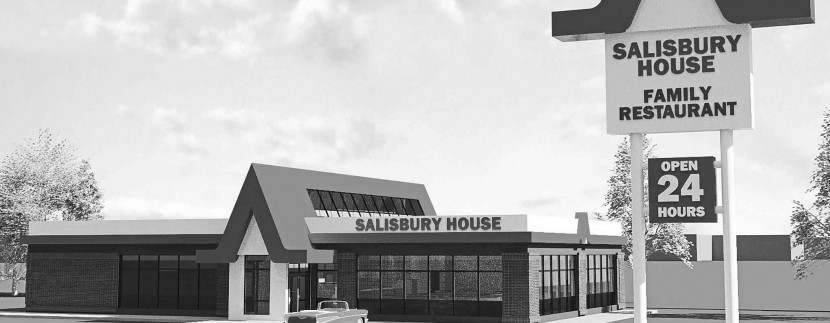An artist's rendering of the new Salisbury House to be built in Steinbach.
